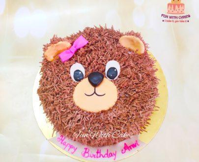 Teddy Bear Cake Designs, Images, Price Near Me