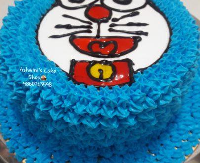Doremon Cartoon Cake Designs, Images, Price Near Me