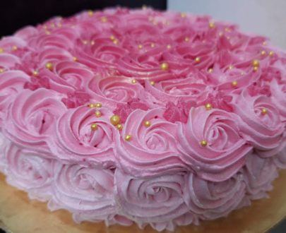 Rose Flavour Cake Designs, Images, Price Near Me