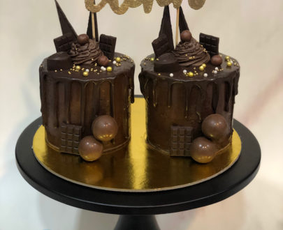 Twin Chocolate Cake(1 kg) Designs, Images, Price Near Me