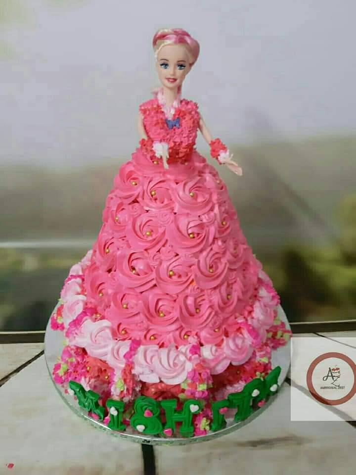 Barbie Doll cake Designs, Images, Price Near Me