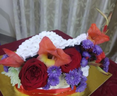 Bouquet Theme Cake Designs, Images, Price Near Me