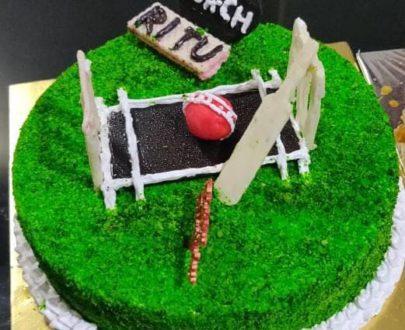 Cricket Theme Cake 🎂 Designs, Images, Price Near Me