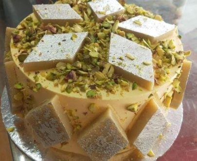 Kaju Katli Cake Designs, Images, Price Near Me
