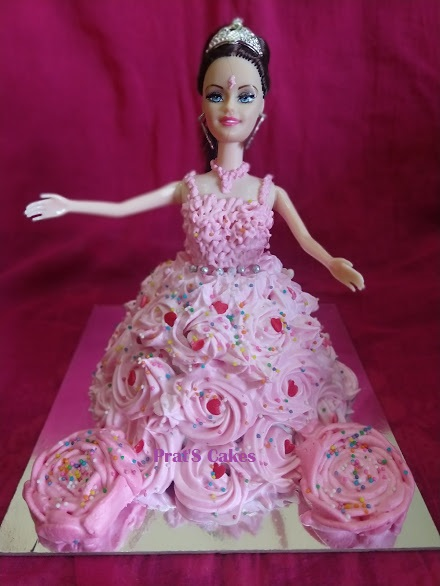 Doll Cake (Eggless) Designs, Images, Price Near Me