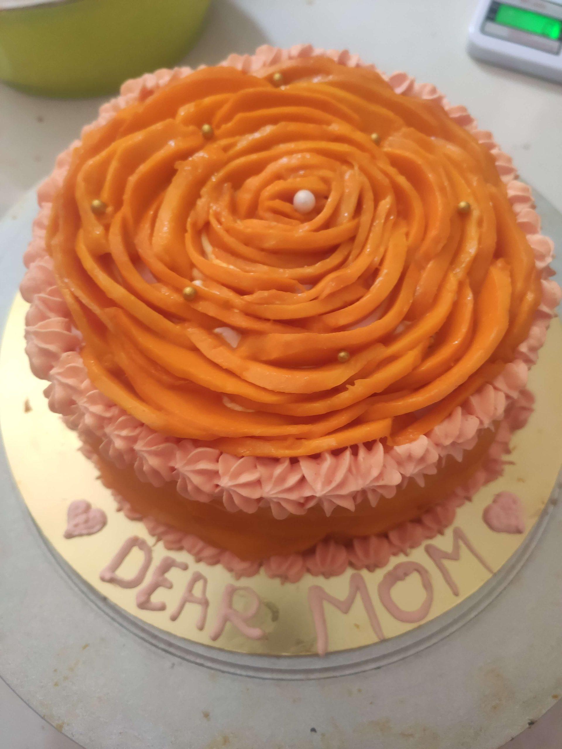 Mango Rose Cake Designs, Images, Price Near Me