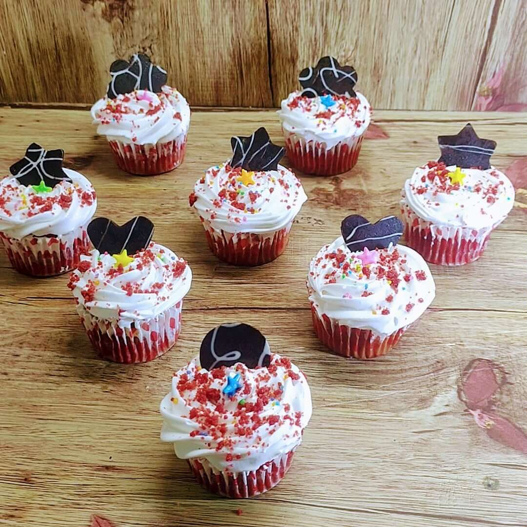 Box of 6 Red Velvet Cupcakes Designs, Images, Price Near Me