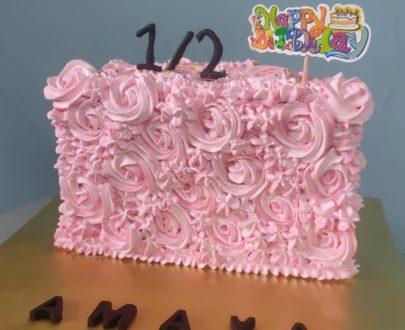 Half Birthday Cake 🎂 Designs, Images, Price Near Me