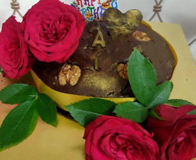 Wheat Jaggery Walnut Cake Designs, Images, Price Near Me