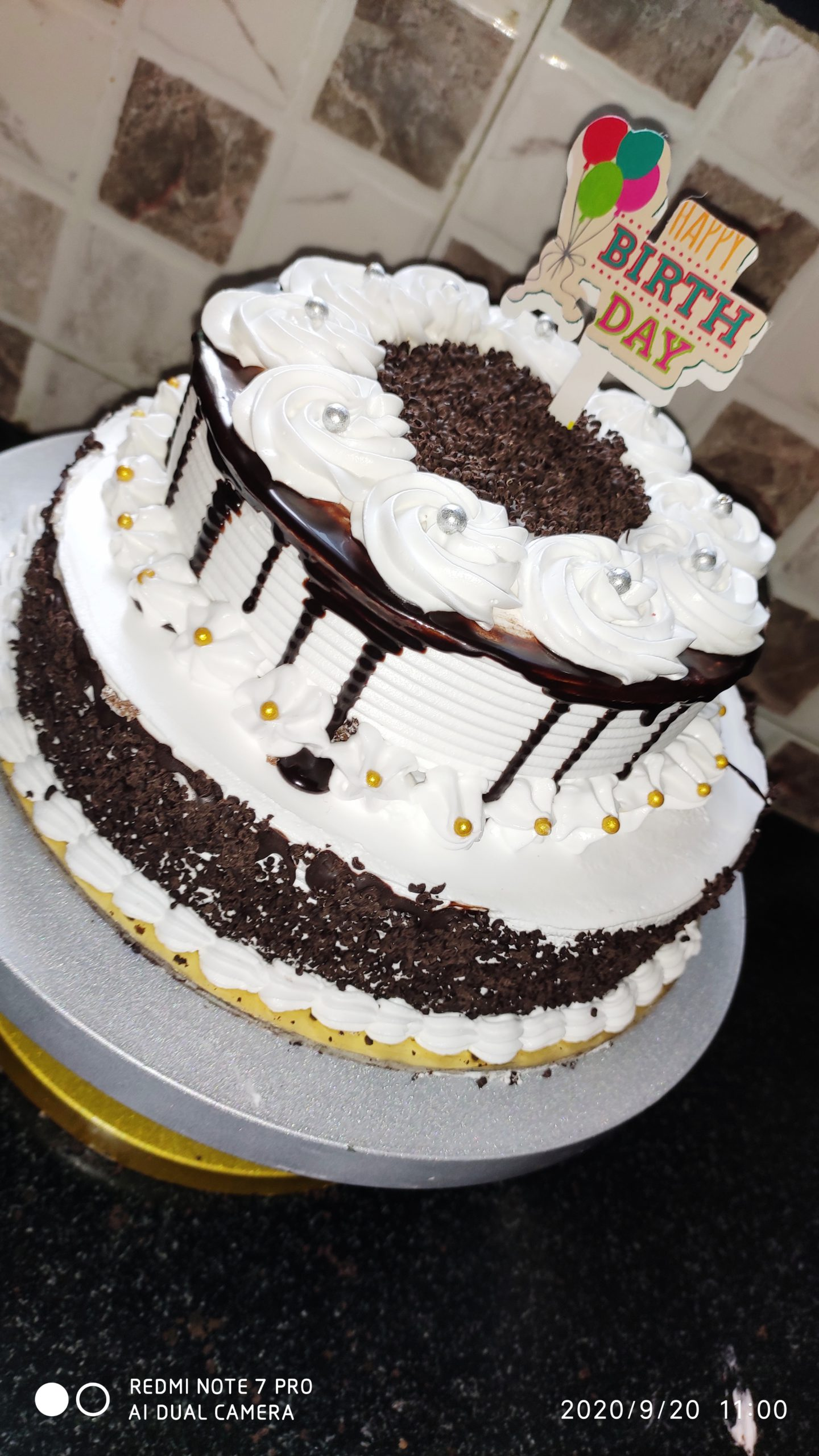 Black Forest Two Tier Cake Designs, Images, Price Near Me