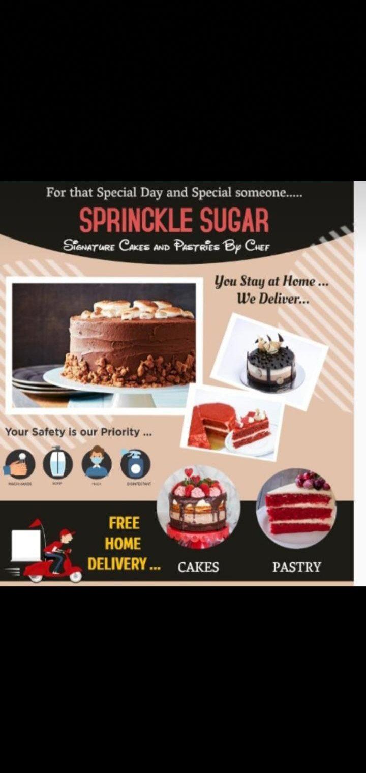 Sprinkle Sugar