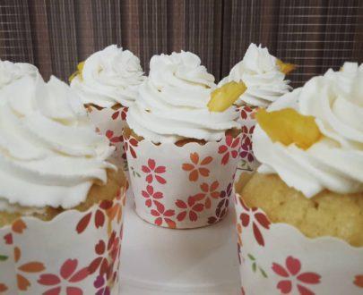 Pineapple Cupcake (6 Pcs) Designs, Images, Price Near Me
