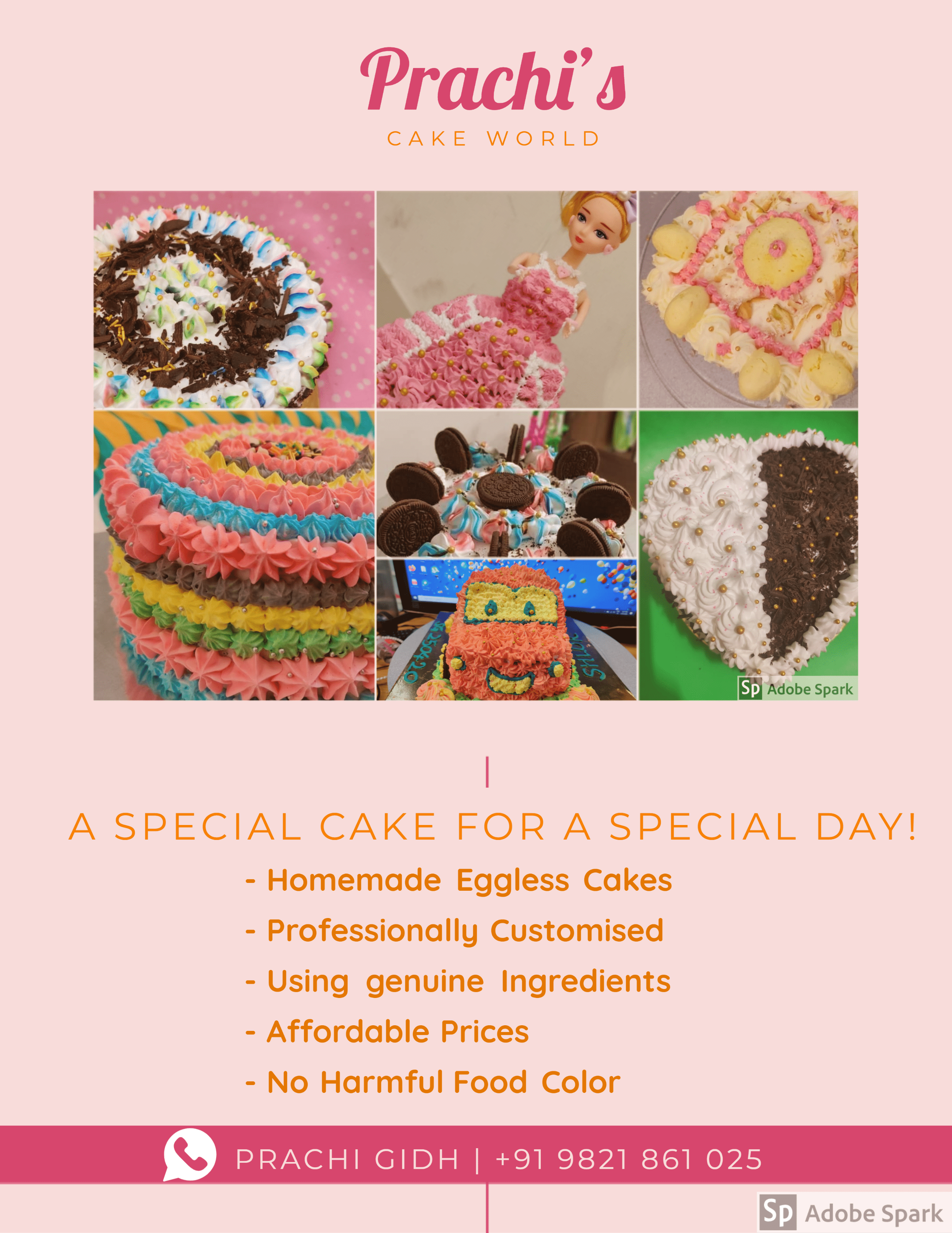 Prachi's cake World