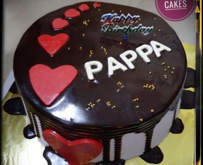 Chocolate Cake (Semi Fondant) Designs, Images, Price Near Me