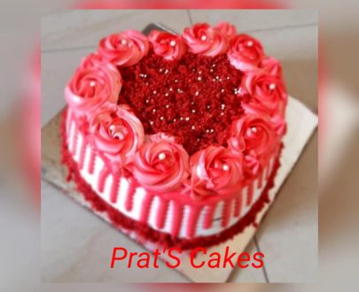 Red Velvet Cake with cheese cream Designs, Images, Price Near Me