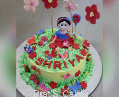 Butterfly/Flower Theme Cake Designs, Images, Price Near Me