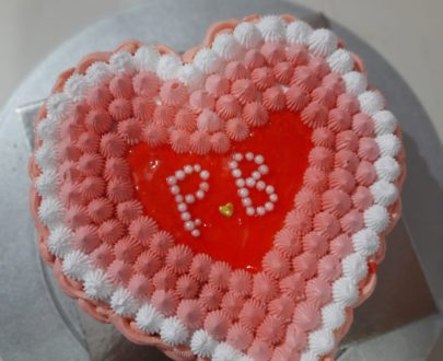 Thandai Flavor Heart Shaped Cake Designs, Images, Price Near Me
