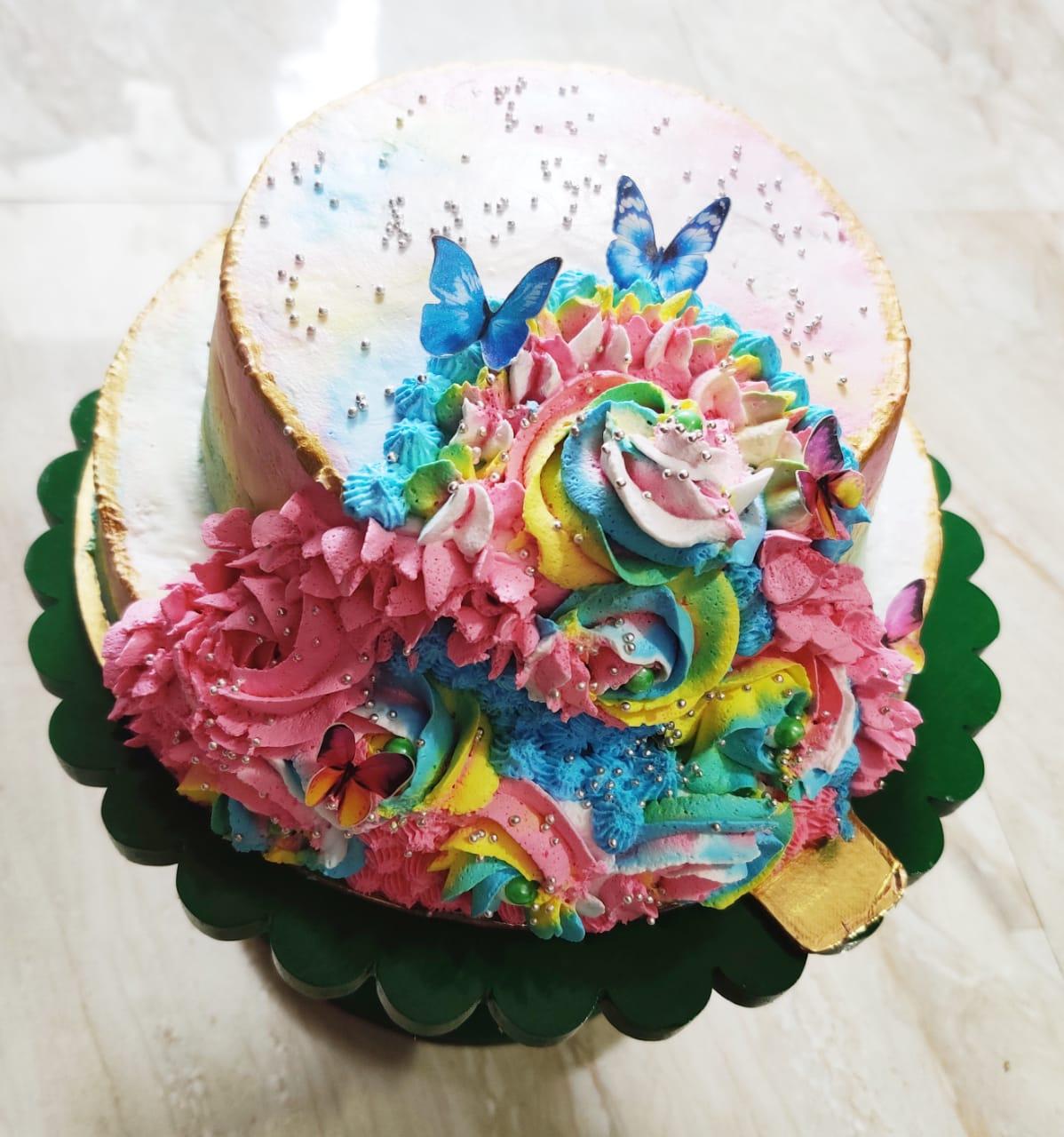 2 Tier Unicorn Theme Cake Designs, Images, Price Near Me