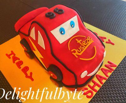 Car Cake ( Mac Queen Cake) Designs, Images, Price Near Me