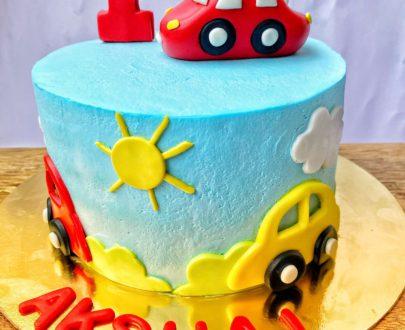 Car Theme Kids Cake Designs, Images, Price Near Me