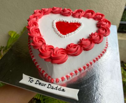 Heart Shaped Anniversary Cake Designs, Images, Price Near Me