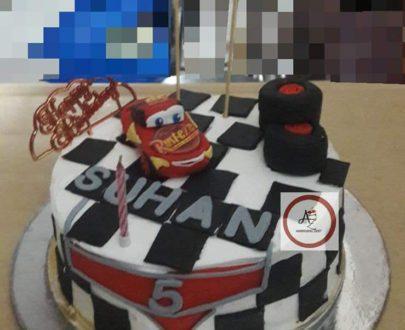 Macqueen Car Cake Designs, Images, Price Near Me