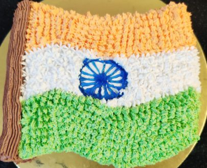 Indian Flag Cake(Independence day special) Designs, Images, Price Near Me