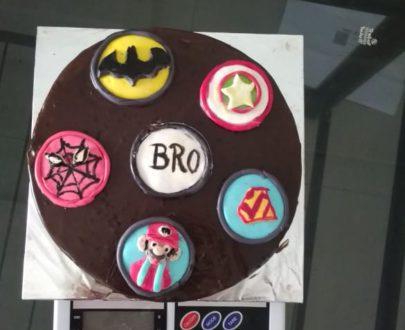 Fondant Chocolate Cake Designs, Images, Price Near Me
