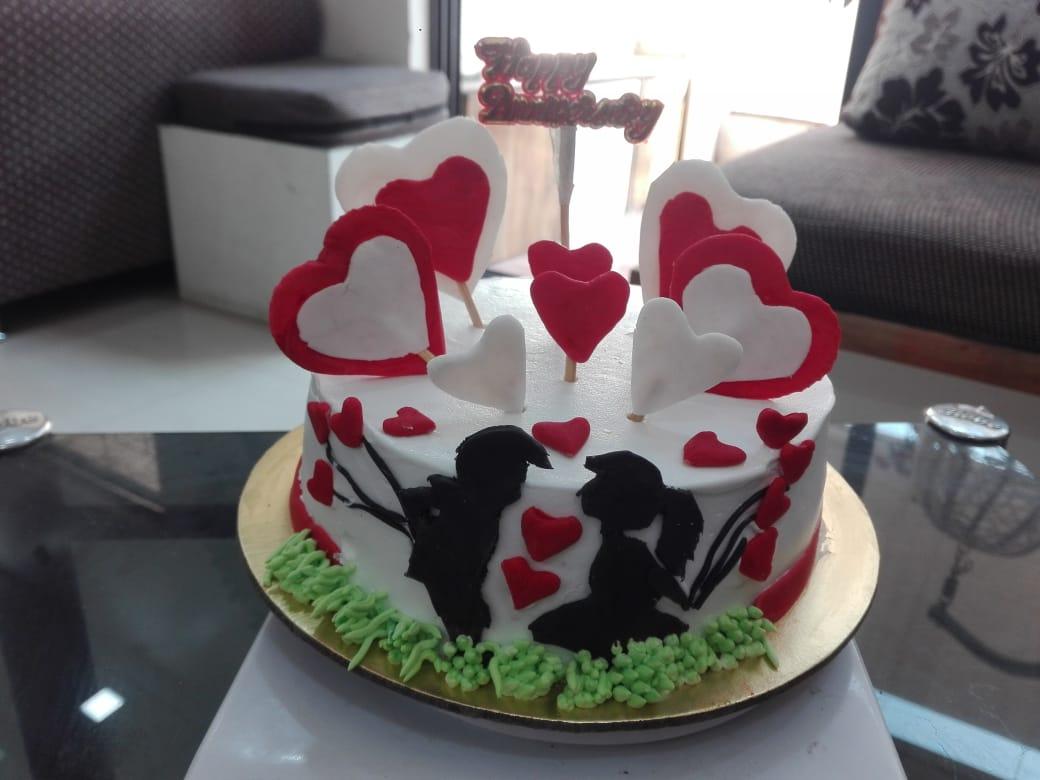 Love Theme Cake Designs, Images, Price Near Me