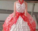 Red Velvet Cake (Doll Shape) Designs, Images, Price Near Me