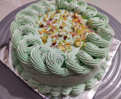 Pista Cake Designs, Images, Price Near Me