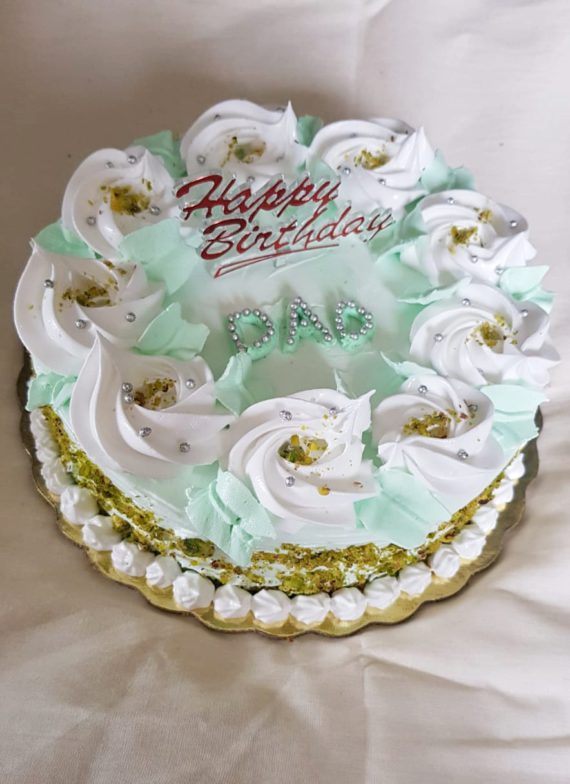 Pistachio Cake Designs, Images, Price Near Me