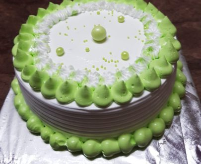 Pista Flavoured Cake Designs, Images, Price Near Me