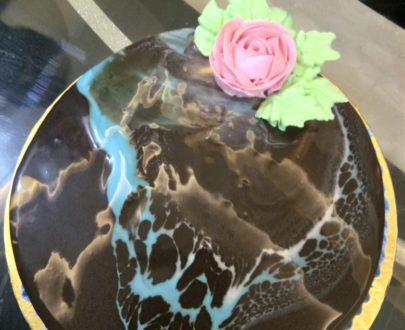Tiger Print Cake Designs, Images, Price Near Me