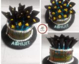 2 Tier Theme Cake Designs, Images, Price Near Me