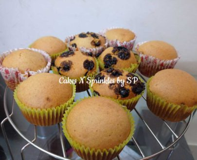 Healthy Vanilla Cupcakes -Pack of 12 Designs, Images, Price Near Me