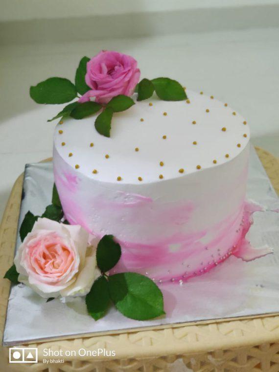 Elegant Rose Cake Designs, Images, Price Near Me