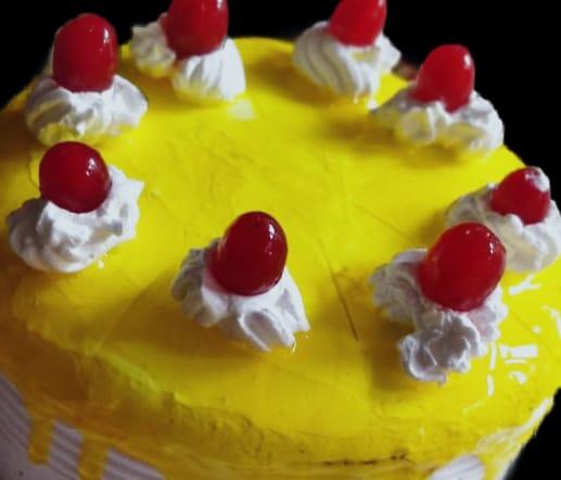 Cherry Pineapple Cake Designs, Images, Price Near Me
