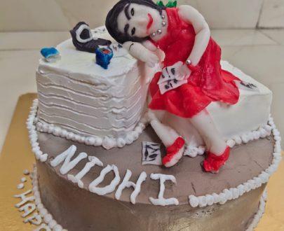 Semi Fondant Cake Designs, Images, Price Near Me