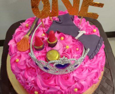 Makeup Theme Cake (SemiFondant ) Designs, Images, Price Near Me