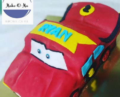 Lightning McQueen Theme Cake Designs, Images, Price Near Me
