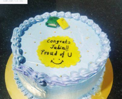 Congratulation Theme Cake Designs, Images, Price Near Me