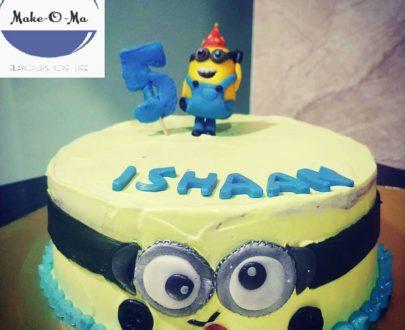 Minion Theme Cake Designs, Images, Price Near Me