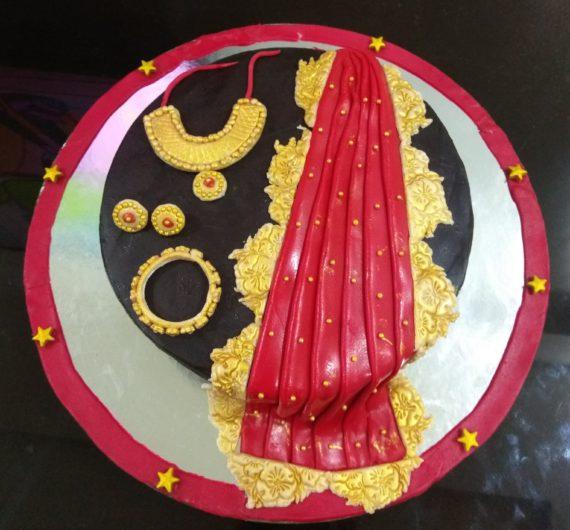 Saree Cake Designs, Images, Price Near Me