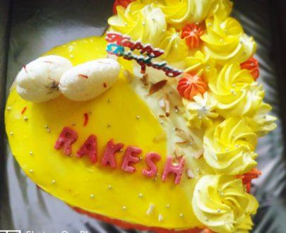 HEART-SHAPED RASMALAI CAKE Designs, Images, Price Near Me