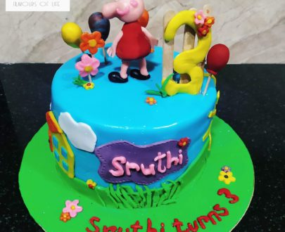 Peppa Pig Theme Cake Designs, Images, Price Near Me
