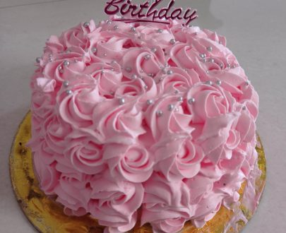 Chocolate Rosette Cake Designs, Images, Price Near Me
