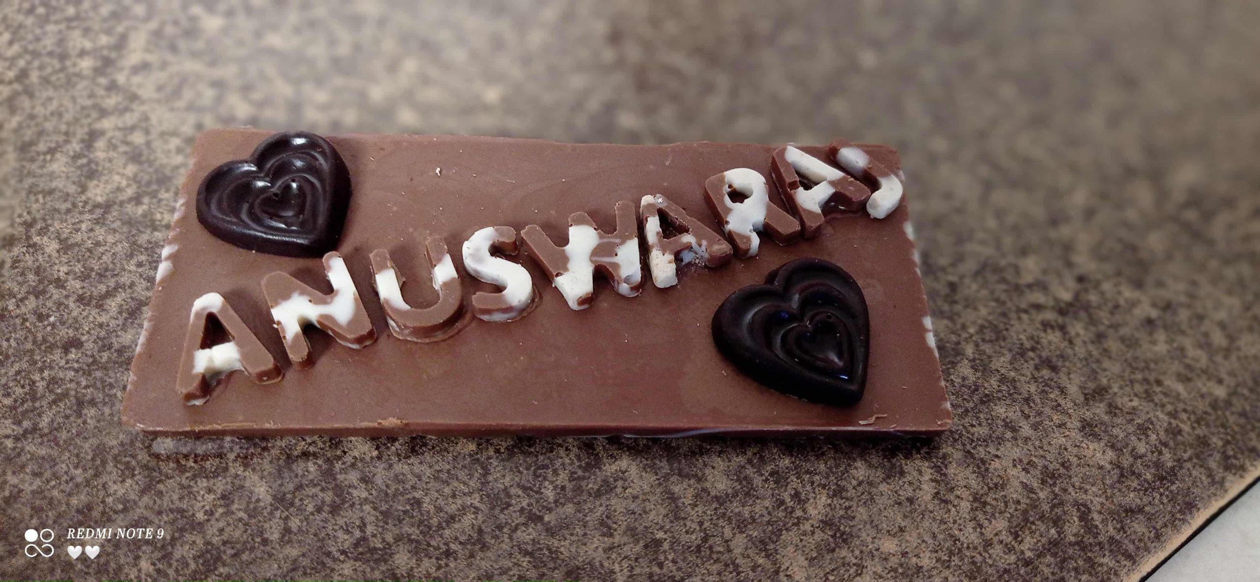 Chocolate Bar with Message Designs, Images, Price Near Me