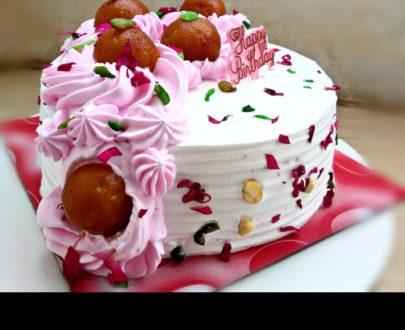 Gulabjamun Cake Designs, Images, Price Near Me