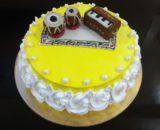 Saxophone Theme Cake Designs, Images, Price Near Me